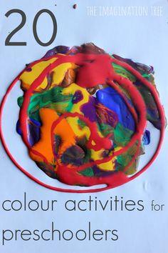 20 Colour Activities for Preschoolers