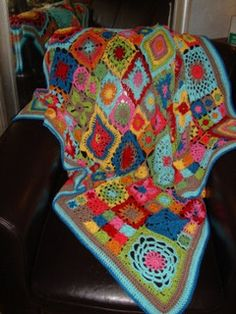 Bloom Blanket by RebeccaVelasquez,