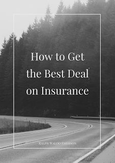 How To Make Money Online: How to Get the Best Deal on Insurance