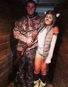 Deer and Hunter Halloween costume