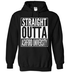 STRAIGHT OUTTA Ashford University T Shirt, Hoodie, Sweatshirt
