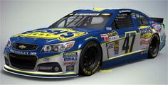 One of the paint schemes that AJ Almendinger will run in the 2014 Nascar Sprint Cup Season