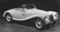1952 .. MG Ex 175 , because it would go head to head with the Healey 100 , BMC decided this model would never go into production , shame .