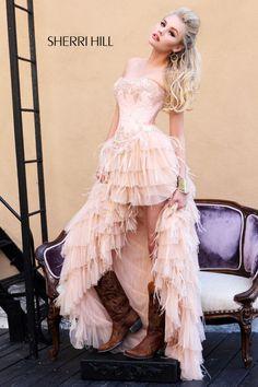 Sherri Hill - Dresses  when i say im getting this dress... i mean i am getting this dress..