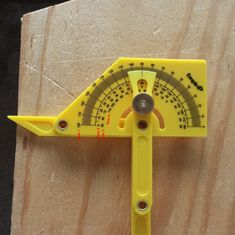 Find out the many awesome ways the Empire Protractor can be used to make measuri., DIY and Crafts, Find out the many awesome ways the Empire Protractor can be used to make measuring angles a breeze. This tool is truly underestimated. Woodworking Jigsaw, Used Woodworking Tools, Woodworking Joints, Woodworking Workbench, Popular Woodworking, Woodworking Crafts, Woodworking Protractor, Woodworking Furniture, Woodworking Beginner