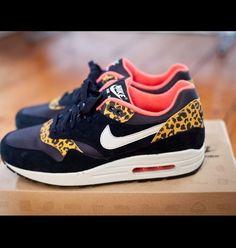 Nike Air Max 1 Leopard Pack.