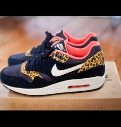 Nike Air Max 1 Leopard Pack. Own you.