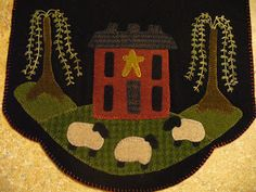 Wool Applique ~ by Paula's Primitives