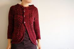 knitting 12 sweaters in 2012, #8