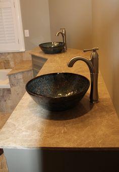 Custom Sinks - Gorgeous!