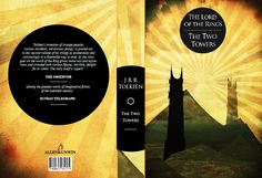 Lord of the Rings - Book Cover Designs by Jack Fish, via Behance