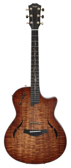 Taylor T5 Custom Limited AA Hawiian Koa Acoustic Guitar   Rainbow Guitars