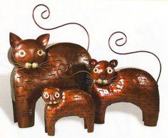 Classic Cat Lantern. One of my first lantern designs.