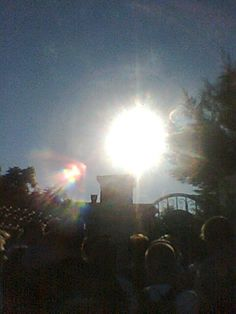 Sun in Medjugorje-30th Anniversary: Photo taken of the dancing sun during the 30th anniversary celebration of the apparitions at Medjugorje .