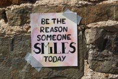 Handlettering inspiratie - Inspirerende quotes, be the reason someone smiles today Quotes, Blog, Quotations, Blogging, Quote, Shut Up Quotes