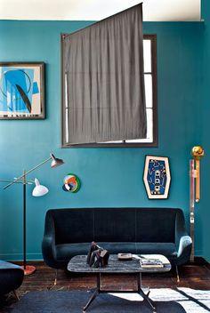我們看到了。我們是生活@家。: 古董商Florence Lopez位在巴黎的公寓,也是她的工作室兼藝廊!