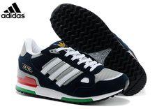 best service 36877 5982a Men s Adidas Originals ZX 750 Shoes Dark Grey Navy White G64045,Adidas-ZX Shoes  Sale Online