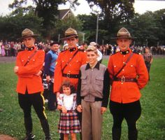 Mounties! about 1953