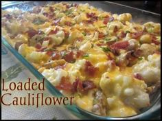 Loaded Cauliflower | BlogHer
