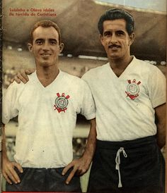 1960 Luizinho e Olavo, do S.C. Corinthians Paulista