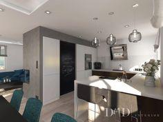 DMD Interiør- Dom w Werbenach kuchnia