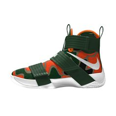 As a University of Miami alum the new NikeID camo option for the Lebron Soldier X has me drooling