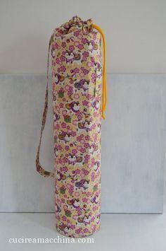 Come cucire una sacca per il tappetino Yoga