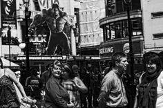 "Saatchi Art Artist John Bussey; Photography, ""Satan Furious at christian  Evangelisation in Leicester square"" #art"