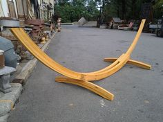 Hammock Stand, Deluxe Roman Arc from Black Dog Salvage