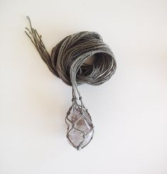 Seeing as I  am about to embark on a birthday holiday and September is the season for birthdays (nine months after new years…use your imagination…or not) I decided an easy gift giving idea was in order. Macrame gemstone necklaces are not only easy to make they can be a very personal present when you choose …