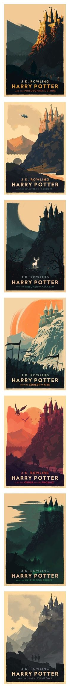 Minimalist Harry Potter art prints designed by Olly Moss #HarryPotter alles für Ihren Erfolg - www.ratsucher.de