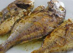 Φαγκρί με λεμόνι και αρωματικά Fish And Seafood, Pork, Chicken, Meat, Pork Roulade, Pigs, Buffalo Chicken, Cubs, Rooster