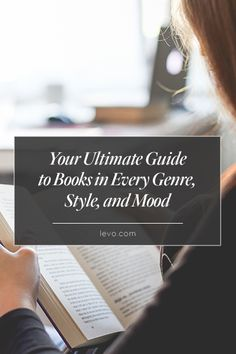 The ULTIMATE #book guide for every occasion www.levo.com #levoleague