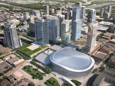 Sports and Sustainability: Rogers Place Arena in Downtown Edmonton Real Estate Values, Real Estate News, Calgary News, Urban Village, Futuristic City, Commercial Real Estate, Amazing Architecture, St Louis, New York Skyline