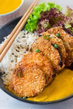 yasai katsu curry portion