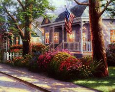 Hometown Pride by Thomas Kincade
