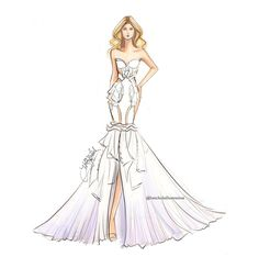 103 Melhores Imagens De Vestidos Desenhados Desenhos De