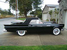 '57 Ford : Thunderbird red i...