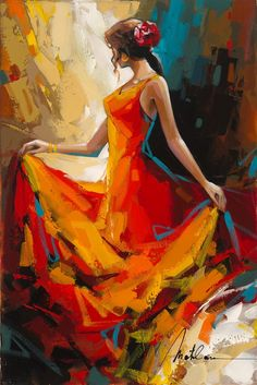 Browse Artwork by Anatoly Metlan - Park West Gallery abstracto Browse Artwork by Anatoly Metlan Figure Painting, Painting & Drawing, Woman Painting, Dance Paintings, Dance Art, Beautiful Paintings, Figurative Art, Lovers Art, Painting Inspiration