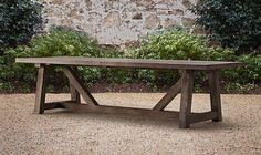 10 Easy Pieces: Simple Wooden Outdoor Dining Tables : Remodelista