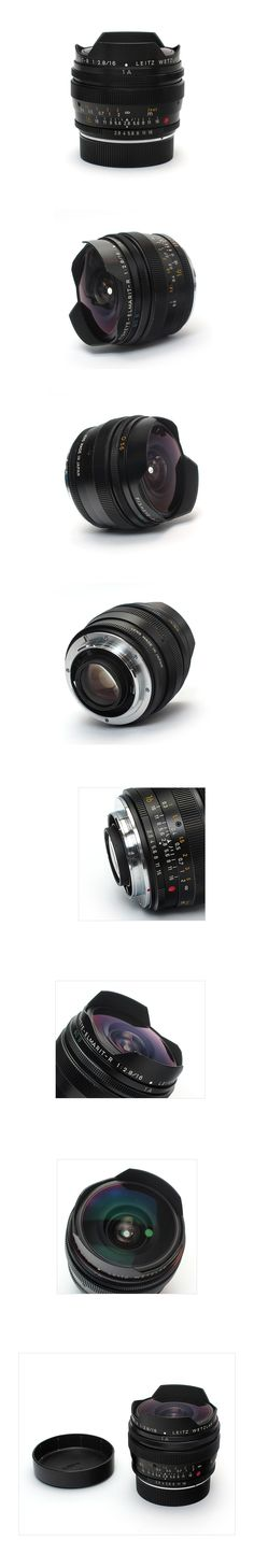 LEICA 16mm F2.8 FISHEYE-ELMARIT-R