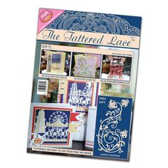 Scrapbooking And More: The Tattered Lace Magazine has Finally Arrived!