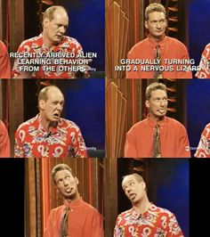 Whose Line Is It Anyway?   Ryan and Colin - love it!!!