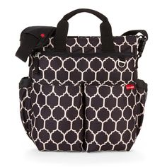 Onyx+Tile+Signature+Duo Skip Hop Nappy Bag