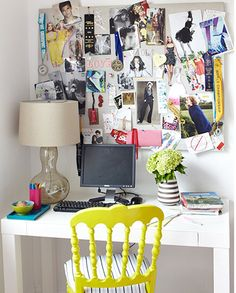 Home and Delicious: 10 rooms – tiny work spaces