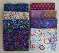 Cotton Fabric, Quilt Cotton, Home Decor Fabric, Fat Quarter Bundle of 8, by Kaffe Fassett for Westminster Fabrics https://www.etsy.com/shop/suesfabricnsupplies