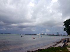 Key Biscayne sky