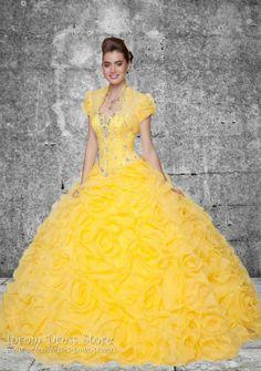 Ball Gown Sweetheart Neckline Floor length Sleeveless Organza Quinceanera Dress with Beading (SAS410)