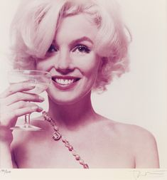 View Marilyn Monroe Heres to You by Bert Stern on artnet. Browse more artworks Bert Stern from Andrew Weiss Gallery. Marilyn Monroe Frases, Fotos Marilyn Monroe, Marylin Monroe, Bert Stern, John Kennedy, Celebrity Gallery, Celebrity Pics, Celebrity Women, Celebrity Portraits