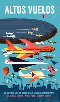 Este hermoso libro desplegable se convierte en una impresionante panorámica de 136 cm en la que se detallan la historia y los mitos del vuelo, desde los legendarios intentos de Ícaro a los revolucionarios innovaciones de la época de los reactores. En la cubierta con la que se envuelve hay textos educativos relacionados con cada panel en los que se detallan los hitos de la historia de la aviación.